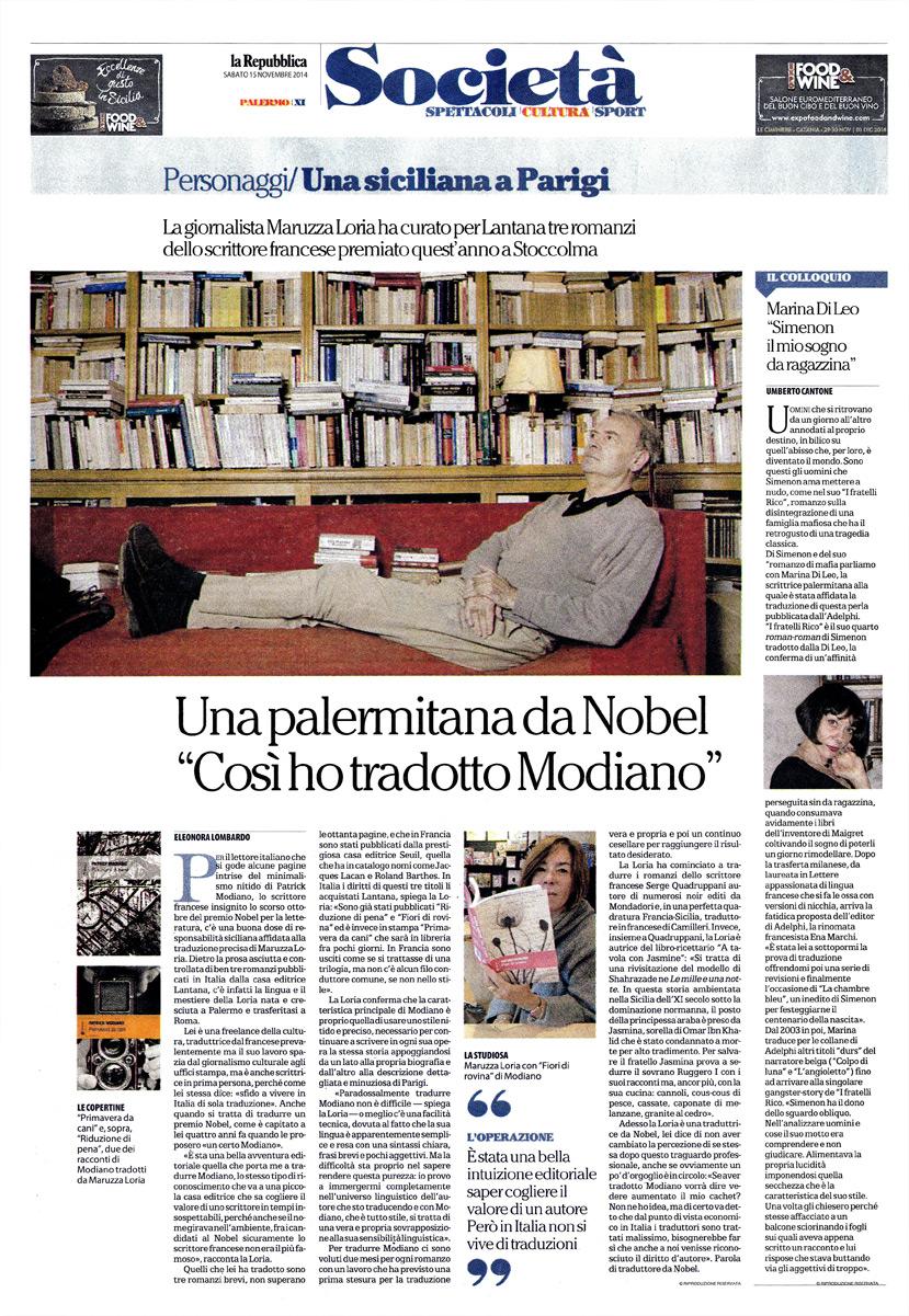 Simenon il mio sogno da ragazzina – Intervista a Marina Di Leo, traduttrice di Simenon per Adelphi