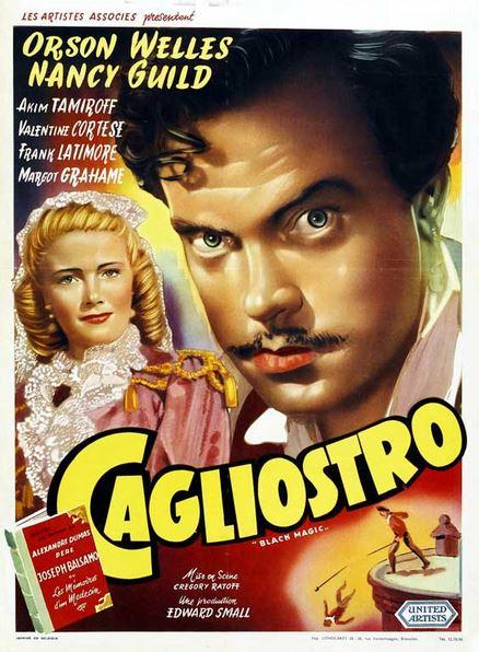 Orson Welles e i nasi finti per Cagliostro