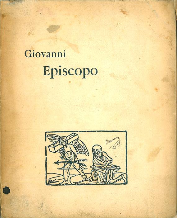 Giovanni Episcopo di Gabriele D'Annunzio – Prima edizione