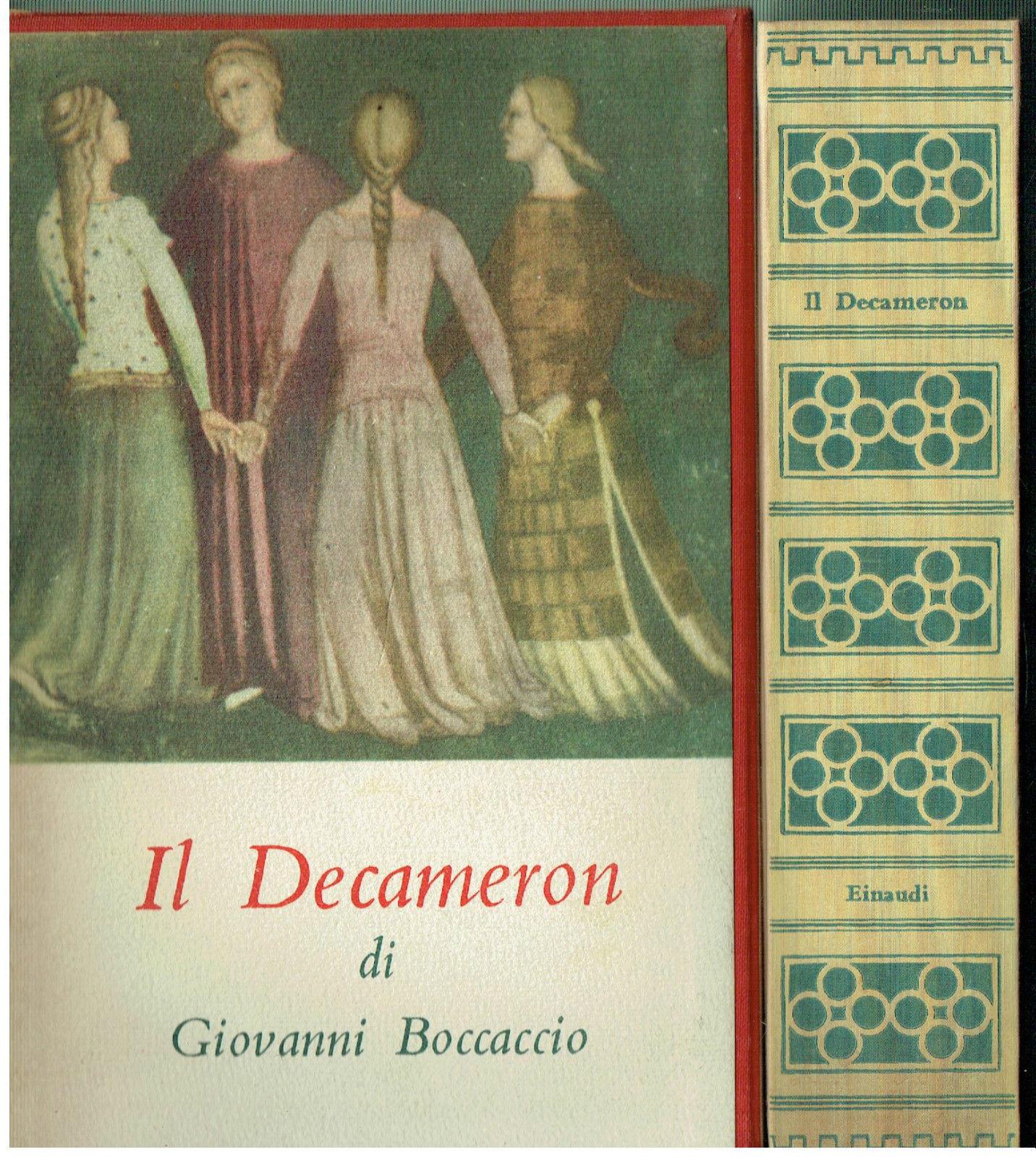 Il Decameron di Giovanni Boccaccio – Edizione Einaudi 1950