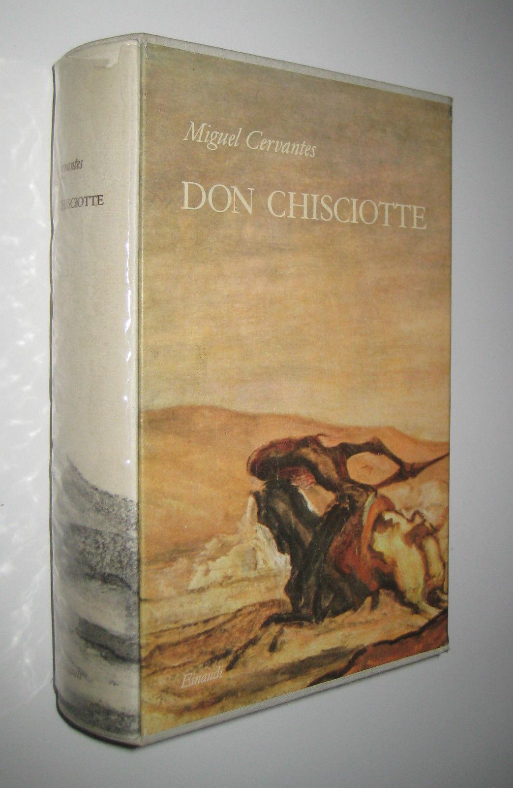 Don Chisciotte della Mancia (El ingenioso hidalgo Don Quijote de la Mancha) di Miguel Cervantes – Prima edizione Einaudi 1957