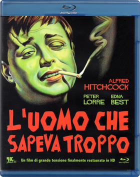 L'uomo che sapeva troppo (The Man Who Knew Too Much, 1934) – Blu-ray