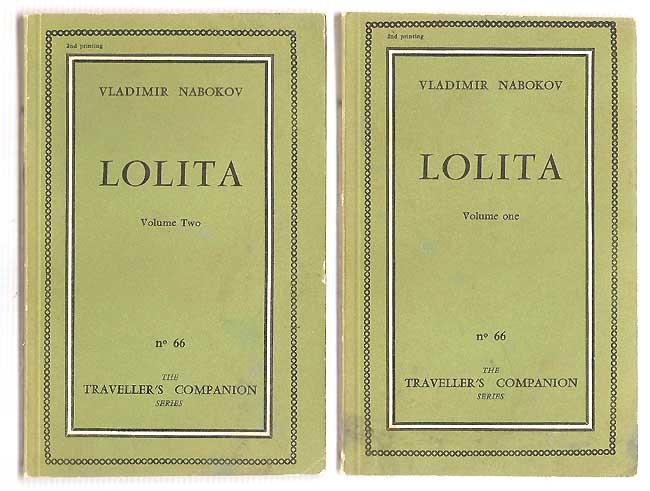 Lolita di Vladimir Nabokov – Edizione Olympia Press 1958