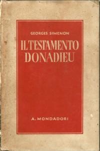 Il testamento Donadieu (Le testament Donadieu) – Prima edizione italiana