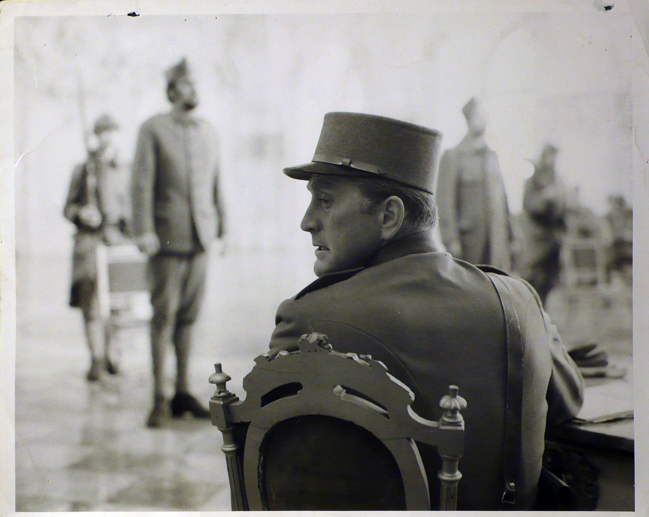 Paths of Glory  (Orizzonti di gloria) di Stanley Kubrick – Fotografia di scena per il Pressbook di una riedizione inglese degli anni '70