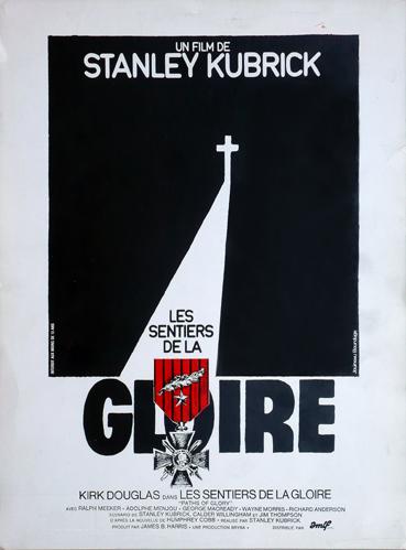 Le sentiers de la gloire (Paths of Glory) – Locandina della prima edizione francese del 1976