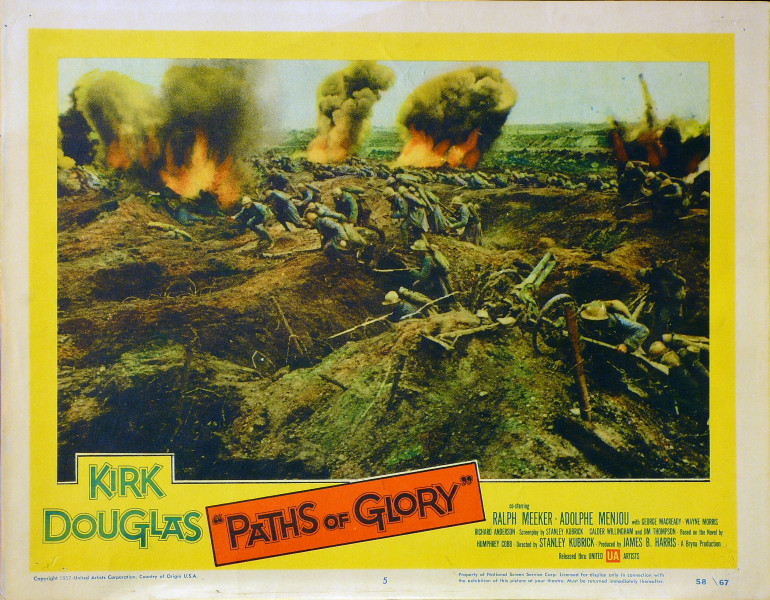 paths of glory essay There is much in [paths of glory] that powerfully illustrates the physical horrors of war, but even more impressive and frightening is the study of its social structure the world seems cruelly.