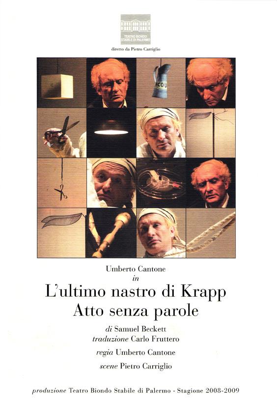 L'ultimo nastro di Krapp / Atto senza parole