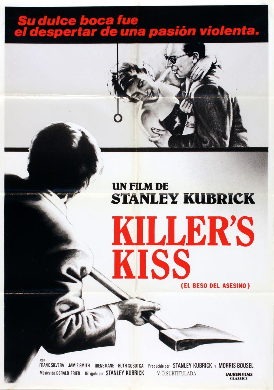 El beso del asesino (Killer's Kiss) di Stanley Kubrick – Manifesto spagnolo