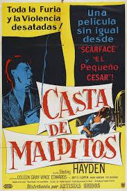 Casta de malditos (The Killing) di Stanley Kubrick – Manifesto edizione argentina