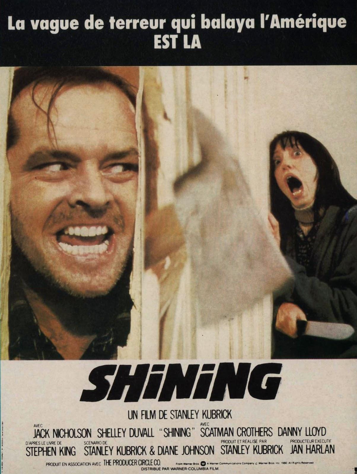 Shining (The Shining) – Manifesto della prima edizione francese