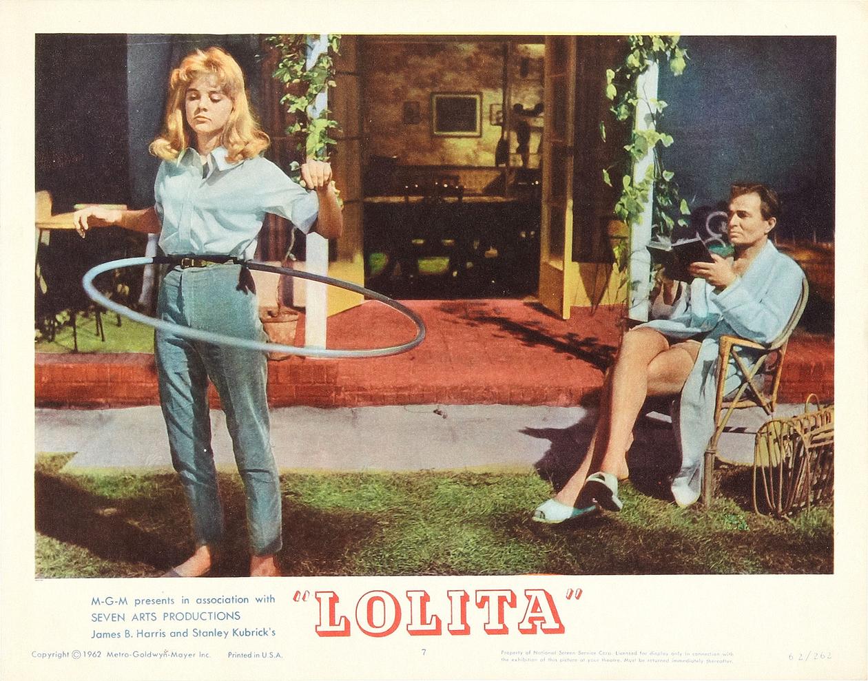 Lolita di Stanley Kubrick – Lobby card della prima edizione americana