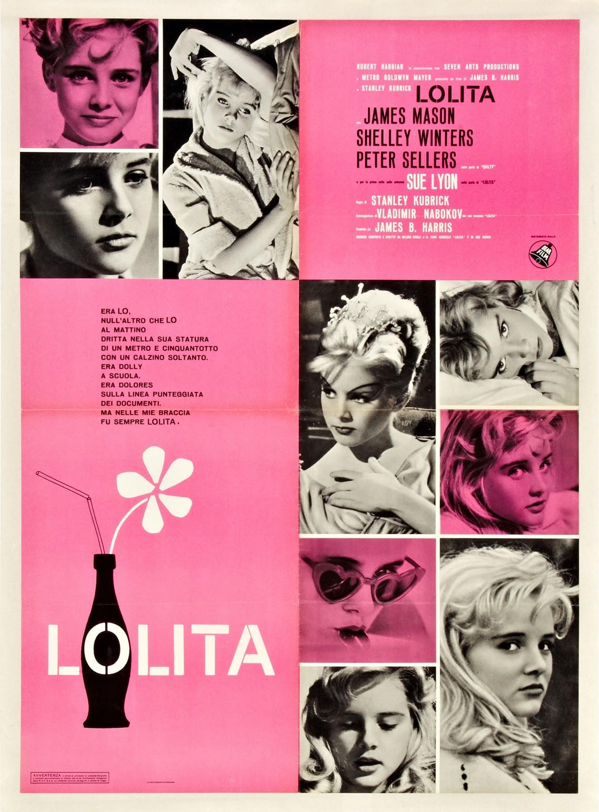 Lolita di Stanley Kubrick – Soggettone della prima edizione italiana