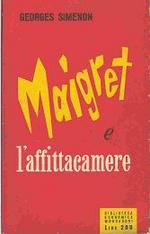 Maigret e l'affittacamere (Maigret en meublé) – Prima edizione italiana