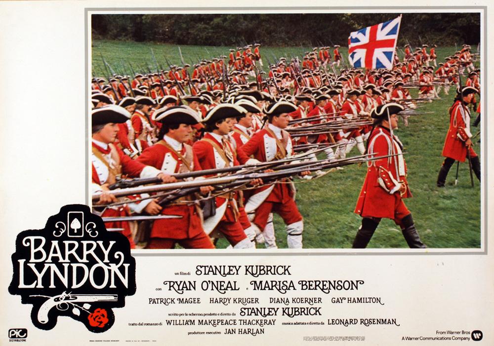 Barry Lyndon di Kubrick – Fotobusta della prima edizione italiana