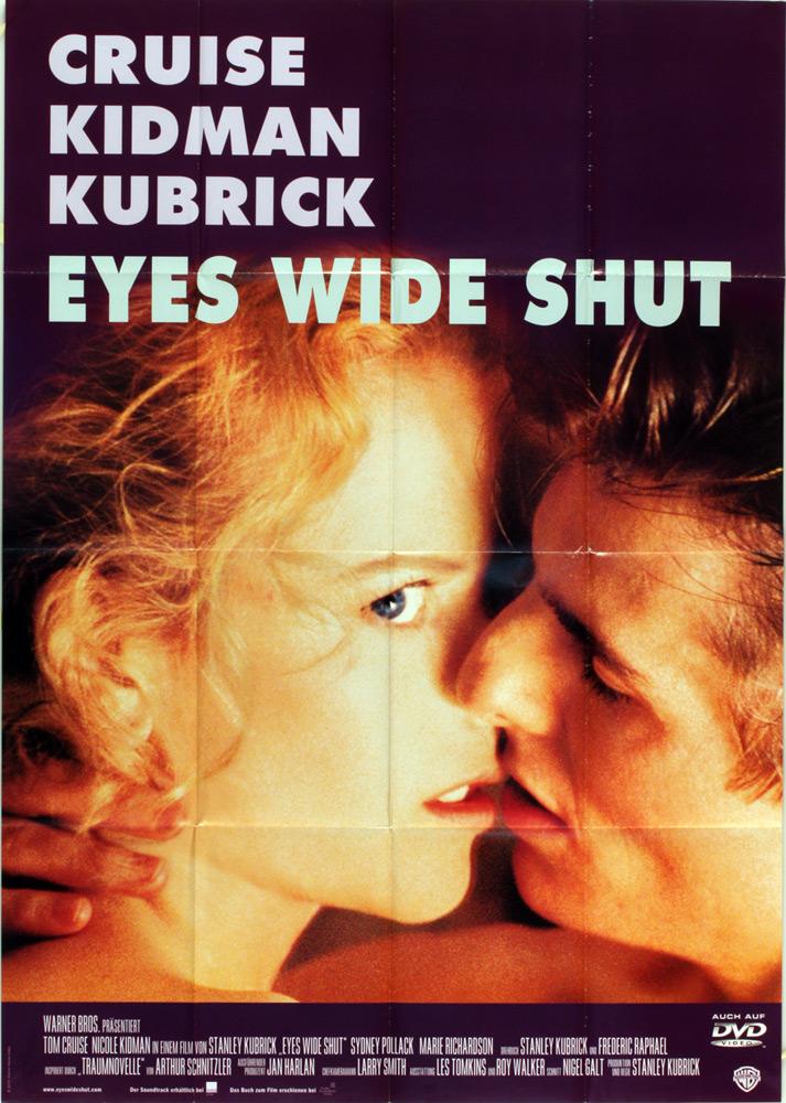 Eyes Wide Shut – Manifesto della prima edizione tedesca