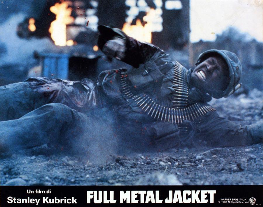 Full Metal Jacket – Fotobusta italiana