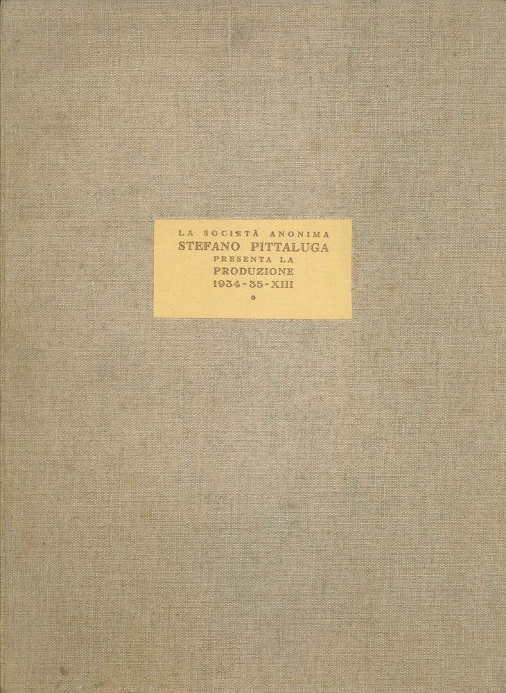 S.A. Stefano Pittaluga – Catalogo Stagione Cinematografica 1934-1935