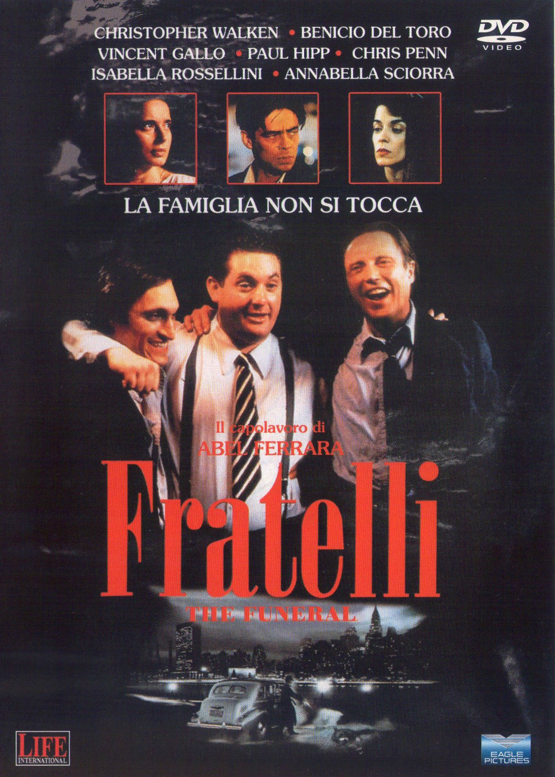 Fratelli (The Funeral) – Dvd