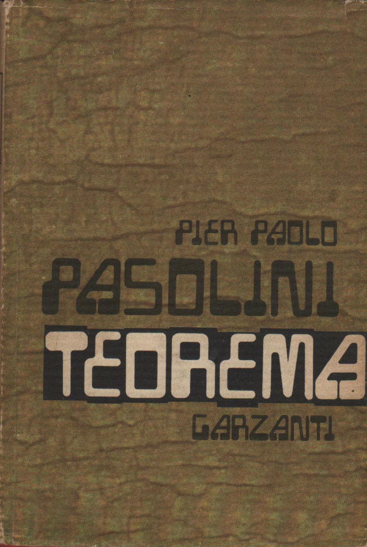 Teorema, romanzo di Pier Paolo Pasolini – Prima edizione