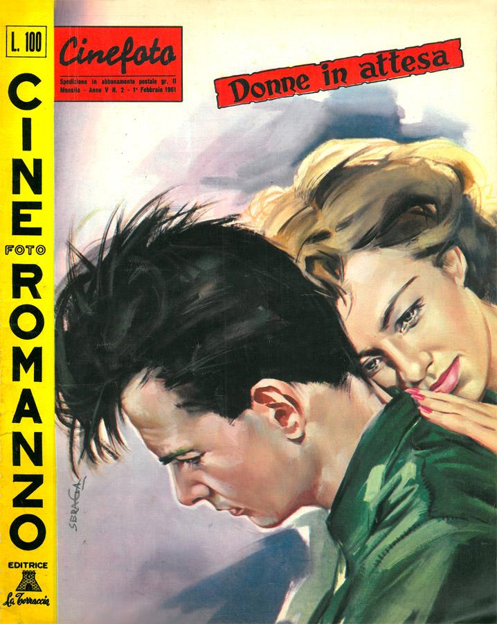 "Donne in attesa (Kvinnors väntan, 1952) di Ingmar Bergman – Cineromanzo in ""Cinefotoromanzo"", anno V, n.2, 1 febbraio 1961"