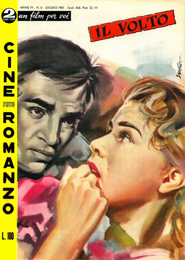 """Il volto (Ansiktet, 1958) di Ingmar Bergman – Cineromanzo in """"Cinefotoromanzo"""", anno IV, n.6, giugno 1961"""