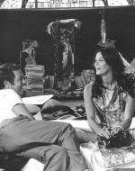 Elio Petri e Florinda Bolkan sul set
