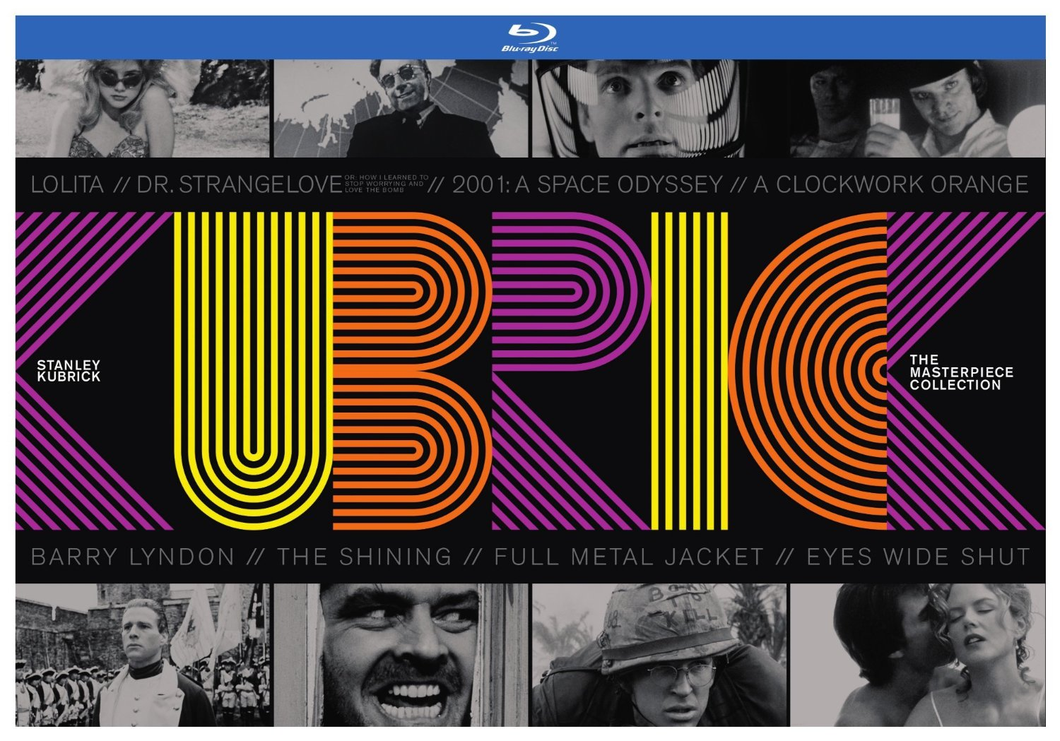 Stanley Kubrick – The Masterpiece Collection – Edizione italiana in Blu-Ray 2014
