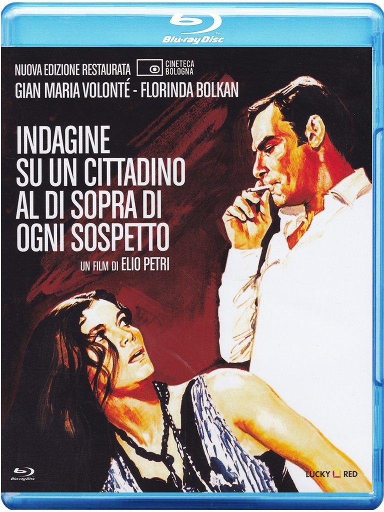 Indagine su un cittadino al di sopra di ogni sospetto di Elio Petri – Blu-ray (con la sceneggiatura integrale illustrata dai fotogrammi del film)
