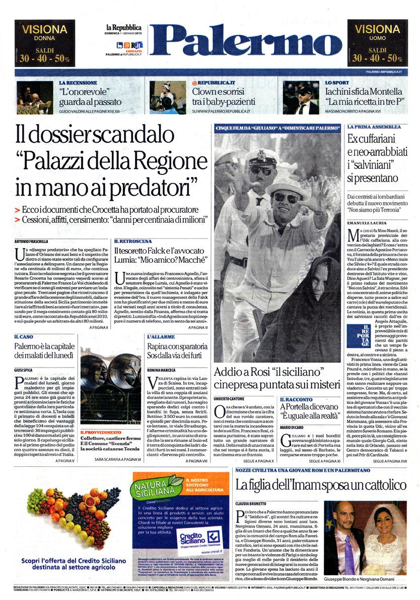 L'addio a Francesco Rosi – Il romanzo della Sicilia nei film-denuncia del cacciatore di utopie