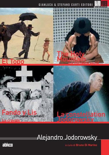 Alejandro Jodorowsky – Cofanetto con 4 Dvd della RaroVideo