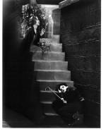 """Fotografia di scena di """"City Lights"""" - doppia esposizione (1928-1931)"""
