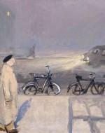 """Wilhelm Schnarrenberger, """"Mann im Nebel"""" (1953)"""