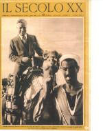 """Copertina de """"Il Secolo XX"""" del 1 aprile 1932 dedicata alla tappa di Porto Said di Chaplin in viaggio verso il Giappone"""