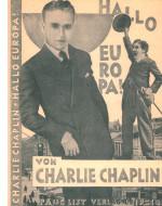 """Opuscolo pubblicitario per l'edizione tedesca del 1928 di """"My Trip Abroad"""" dal titolo """"Hallo Europa"""""""