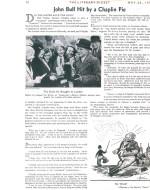 """Pagina del """"The Literary Digest"""" sulla questione della mancata esibizione per i reali"""