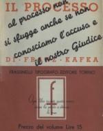 Prima edizione Frassinelli del 1933