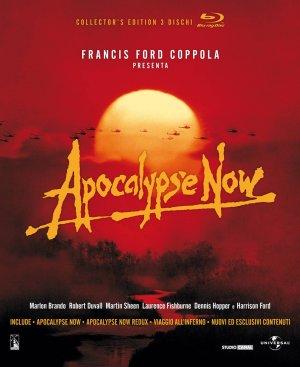 """Apocalypse Now / Apocalypse Now Redux / Viaggio all'inferno – Collector's Edition 3 dischi Blu-ray  (con la sceneggiatura integrale in lingua italiana di """"Apocalypse Now Redux"""" illustrata dai fotogrammi di tutte le scene del film)"""