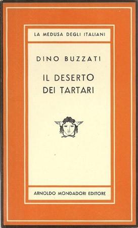 Il deserto dei Tartari di Dino Buzzati – Prima edizione Mondadori 1945