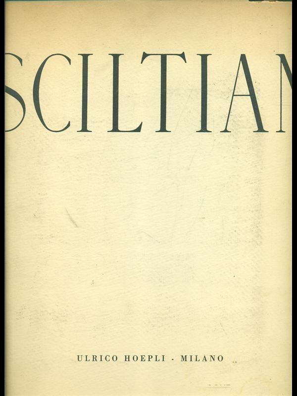 Gregorio Sciltian di Giovanni Comisso – Edizione Hoepli 1944  ( copia con autografo di Gregorio Sciltian )