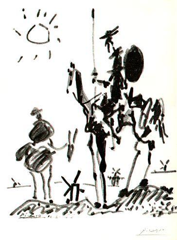 Don Chisciotte, personaggio in cerca d'autore