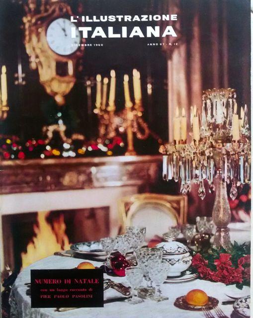 """I giorni della sommossa, racconto di Pier Paolo Pasolini in """"L'Illustrazione italiana"""", Anno 87, n.12 (fascicolo 4117), dicembre 1960"""