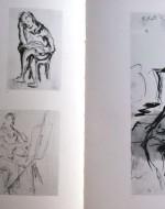 Il pittore al cavalletto (1941) - Ragazzo che legge (1942) - Giocatore al biliardo (1941) - Pittore al cavalletto (1941) - Donna seduta (1941)