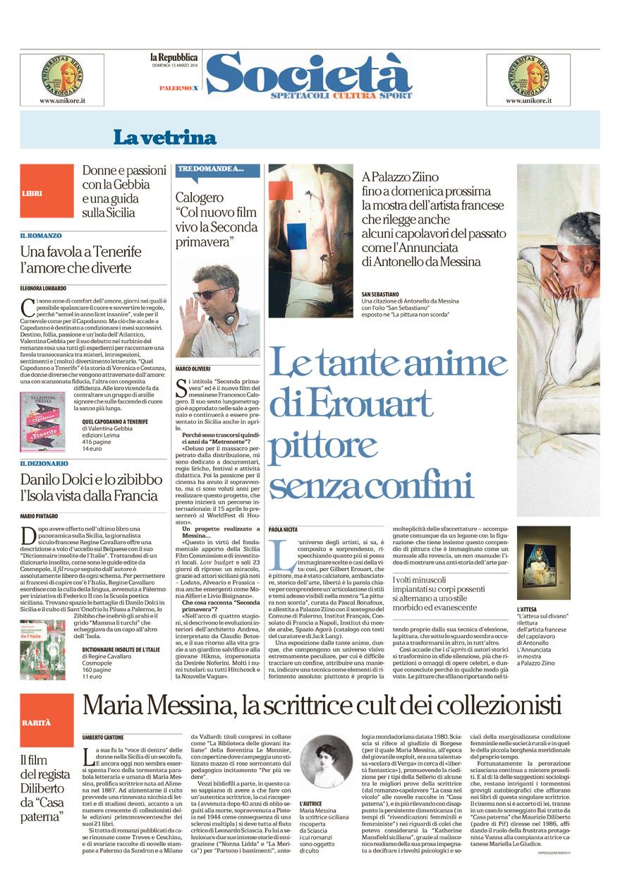 Maria Messina, la scrittrice cult dei collezionisti