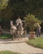 Improvvisamente, arriva una carrozza da cui poi scende, annunciata dai servi, suor Desolata, l'anziana sorella di Alfredo.