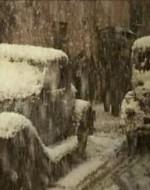 La neve continua a cadere, e davanti a Villa Pioppi un gruppo di persone blocca la strada, mentre sopraggiungono in auto Alfredo e Ada. La coppia si è riappacificata. Ma ora Alfredo è costretto a scendere dall'auto e a farsi largo tra la folla per vedere che cosa è accaduto.