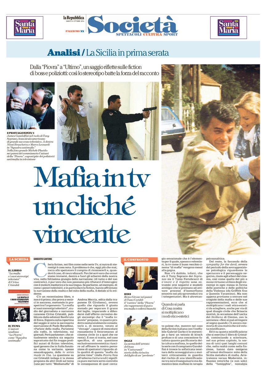 Mafia in tv : un cliché vincente