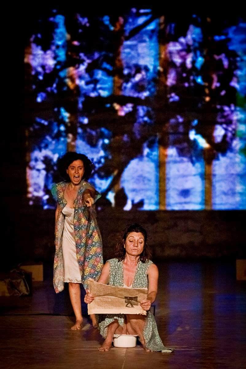 TITI' E VINCENZINA di Franco Scaldati – Progetto e regia di Umberto Cantone, Guido Valdini – Con Serena Barone, Aurora Falcone