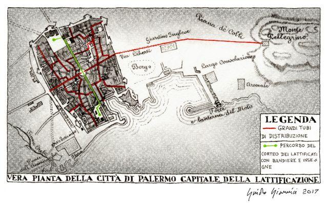 Così Palermo sognava la capitale del latte
