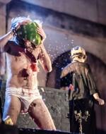 Giuseppe Tarantino (Macbeth), Aurora Falcone (Strega/Lady Macbeth)                                  ©fortyonepictures
